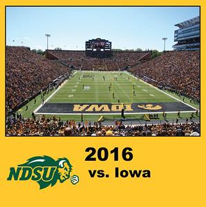2016 Bison Football - Iowa