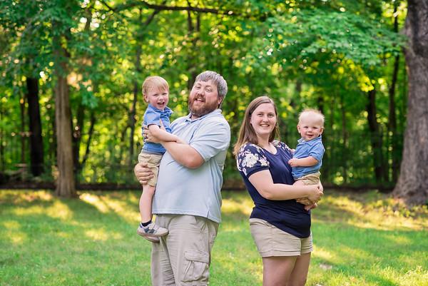 Ben 8 months & family