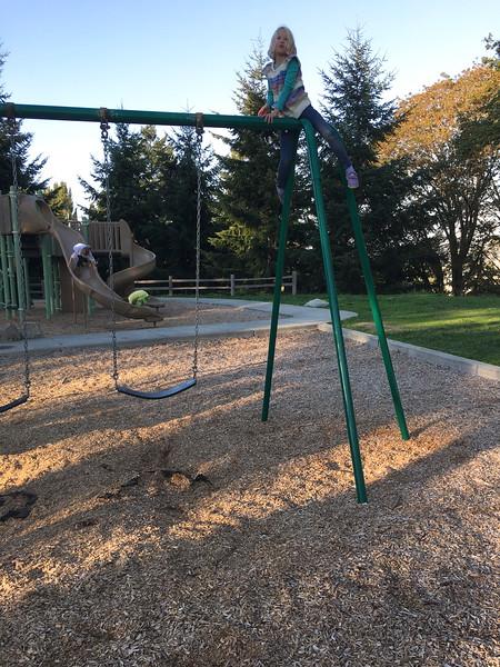 Yep, too big for this playground