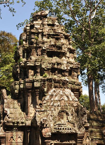 Three temples, Cambodia, 2012