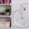 white-bike-and-handmade-bookcase-P4E9NS5