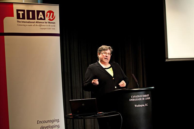 Conference proceedings, TIAW Global Forum 2012. Shot 10/19/12