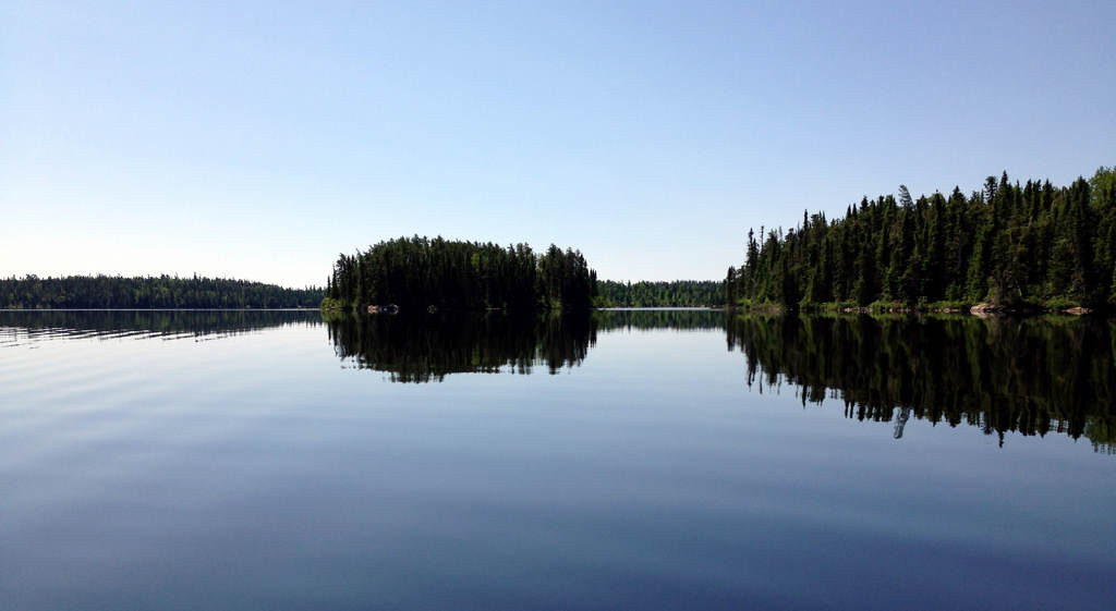 ". Leano Lake was glass-calm on the day outdoors editor Dave Orrick and Steve Safranski of Eden Prairie entered Woodland Caribou Provincial Park in Ontario July 1, 2013. While Leano is the most ""popular\"" entry point in the 1.1-million-acre park, people are rare.