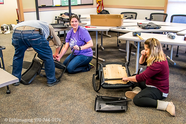 Loveland Chamber - Ambassadors Table/Chairs Assembly - 12/30/2019