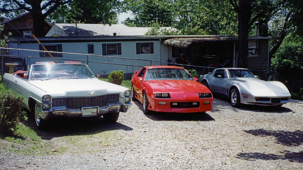 June 1994:  The driveway .  .  .