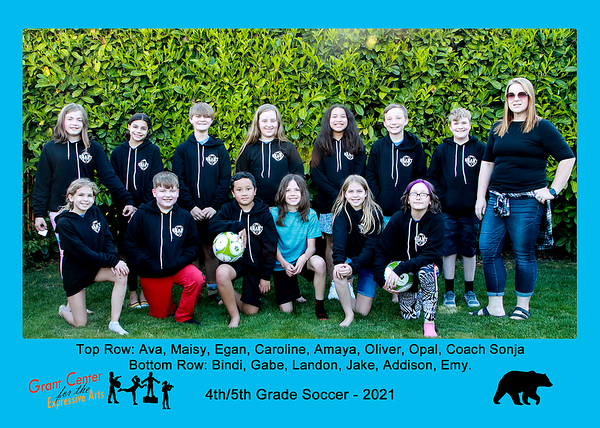 2021 Grant ES 4th and 5th Soccer