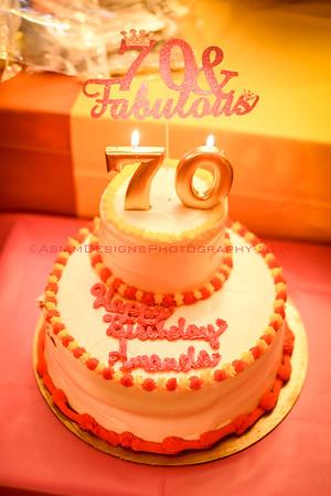 Amanda's 70th Surprise