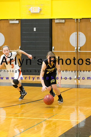Hutch Girls Basketball vs Marshall