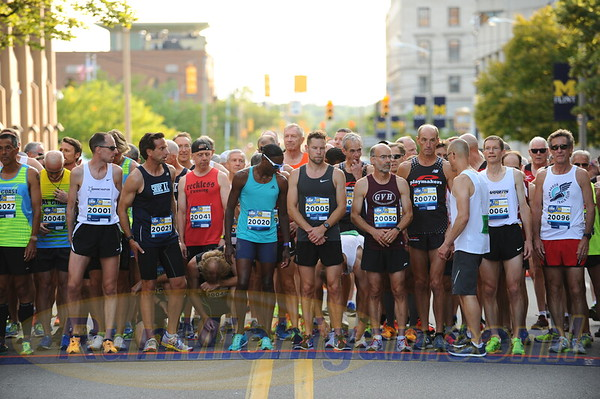 USATF Masters' Men's Mile Start - 2017 Crim Michigan Mile