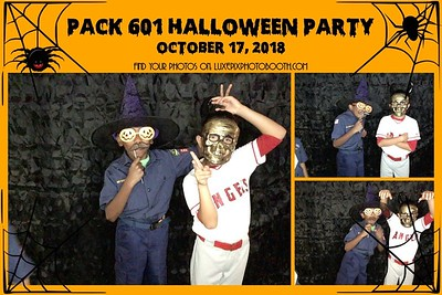 2018.10.17 Pack 601 Halloween Party