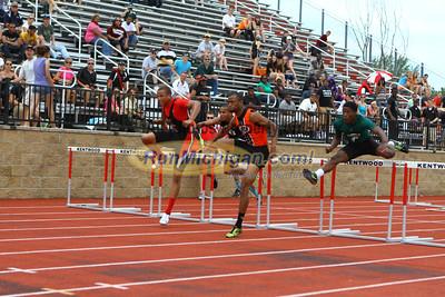 D1 Boys 100M High Hurdle - 2013 MHSAA LP Track and Field Finals