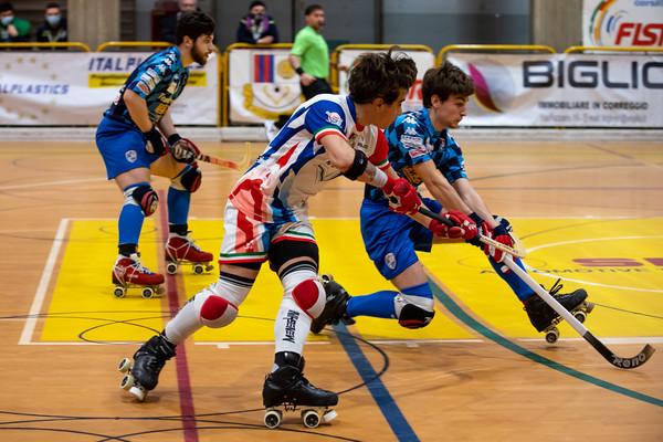 Correggio Hockey vs HRC Monza