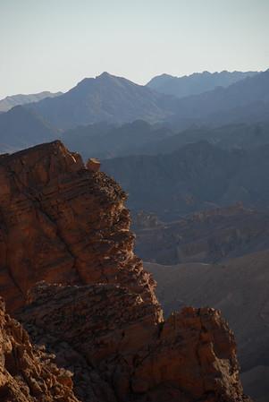Eilat Mountains: Har Hizkiyahu, Canyon Schoret, Nahal Amir, Amudei Amram - Jan. 2009