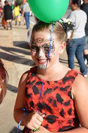 Halloween festivities at Comanche's Main Street