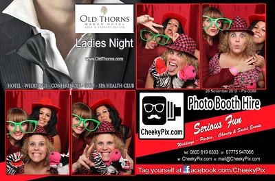 20131128 - Old Thorns Ladies Night
