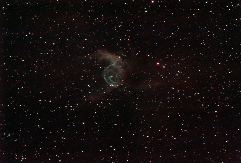 NGC2359 - Gum 4 - Thor's Helmet in Canis Major - 4/2/2021 (Processed stack)