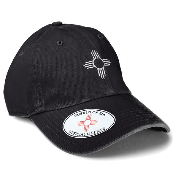 Outdoor Apparel - Organ Mountain Outfitters - Hat - Zia Sun Symbol Dad Cap Black.jpg