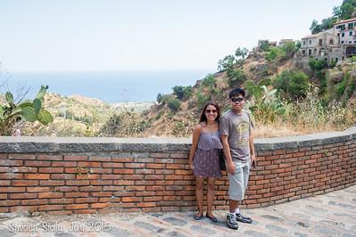 Savoca, Sicily July 2015