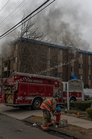 West Haven 3rd alarm apartment fire 175 Canton St.