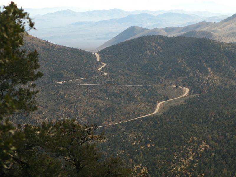 view towards Walkers Pass