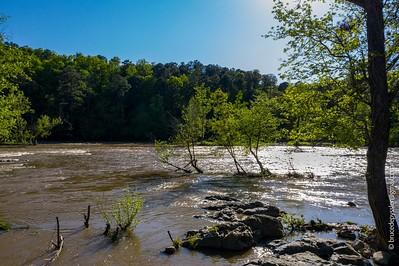 haw river #2 - nearing  lake jordan