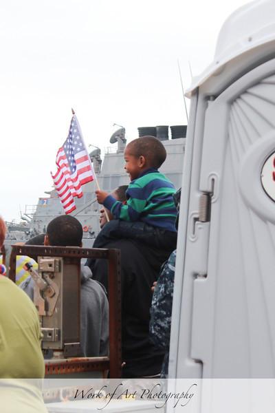 USS Helena Homecoming
