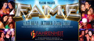 Playboi Presents FAME @ Fahrenheit 10.13.07