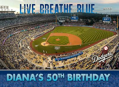 Diana's 50's Birthday