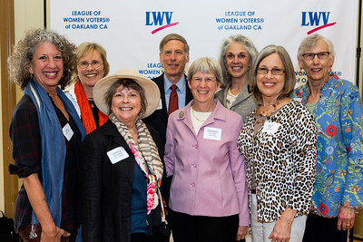 2015 LWV  - Oakland All City Luncheon - Stand & Repeat