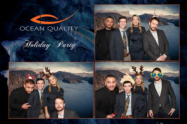 Ocean Quality Holiday Party - Photo Booth