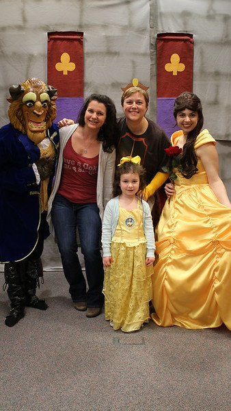 Pictures with Belle and the Beast