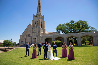 Courtney & Vance Wedding at The Bell Tower Ft Worth
