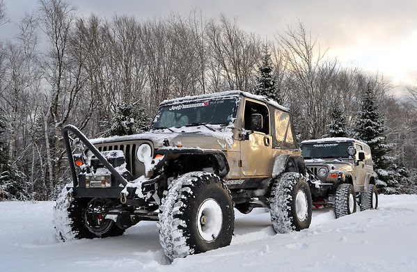 Jeeps, Buggies, Rocks, Snow and Mud!