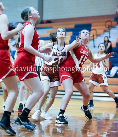 Fr Girls Basketball vs Canyon 121319