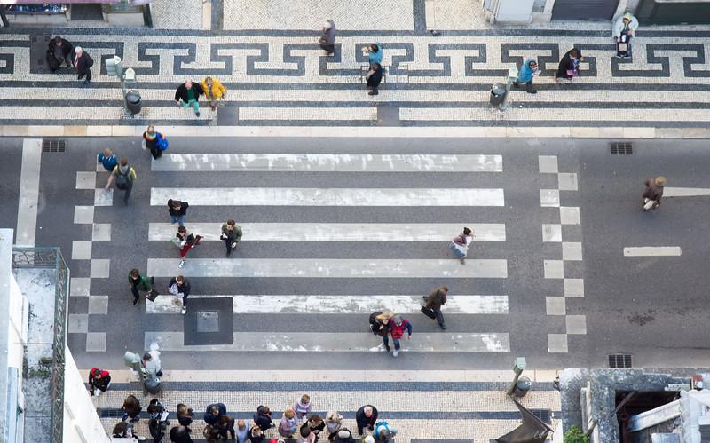 Pedestrian crossing