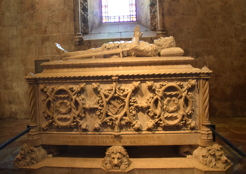 Santa Maria de Belém, Grabmal Vasco da Gama