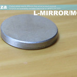 SKU: L-MIRROR/MO/20, Φ20mm Molybdenum Plated Laser Reflecting Mirror for CO2 Laser Beam