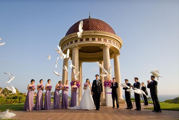 Rebecca & Kevin's Wedding Day: Pelican Hill Newport Coast California
