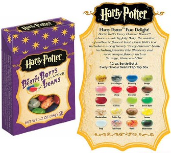 Harry Potter Bertie Bott's Beans. Food Gift Ideas