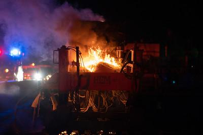 C-470 Equipment Fire