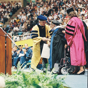 7376 Commencement 1989 honorary degree