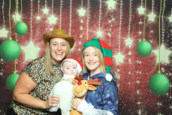Photo Booth hire - SLC Foster Families Christmas 2019