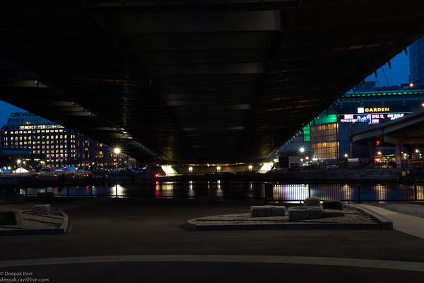 Zakim Bridge - Night Photography