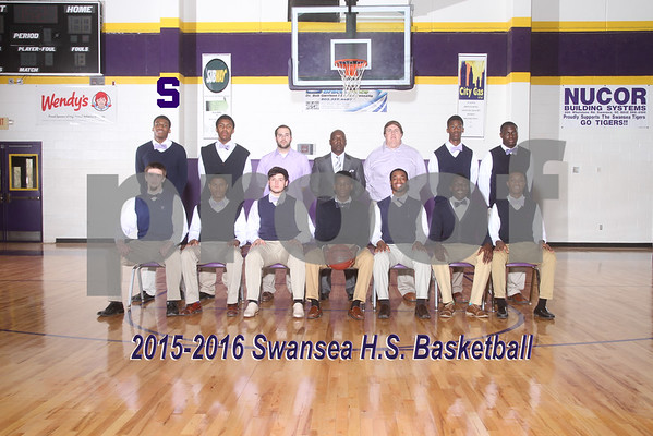 2015-2016 Basketball Varsity, JV, B-Team