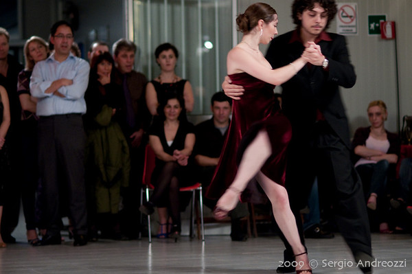 Milonga - 21 gennaio 2009 con Federico Naveira y Ines Muzzopappa