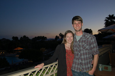 2009, Spring with Laura & Corey in Scottsdale