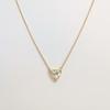 1.54ct Trilliant Rose Cut Diamond Pendant 6