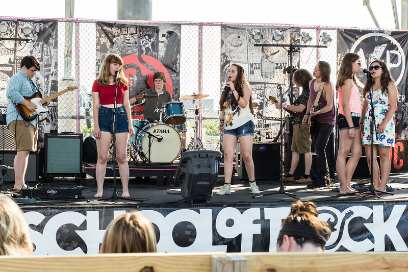 School Of Rock - Battle of the House Bands - Adventure Pier - June 28th, 2014