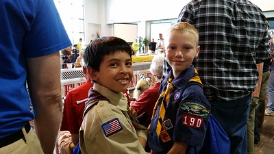 2016-05-07 Pinewood Derby Omaha