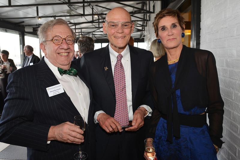 David H. Burnham with James Carville and Mary Matalin
